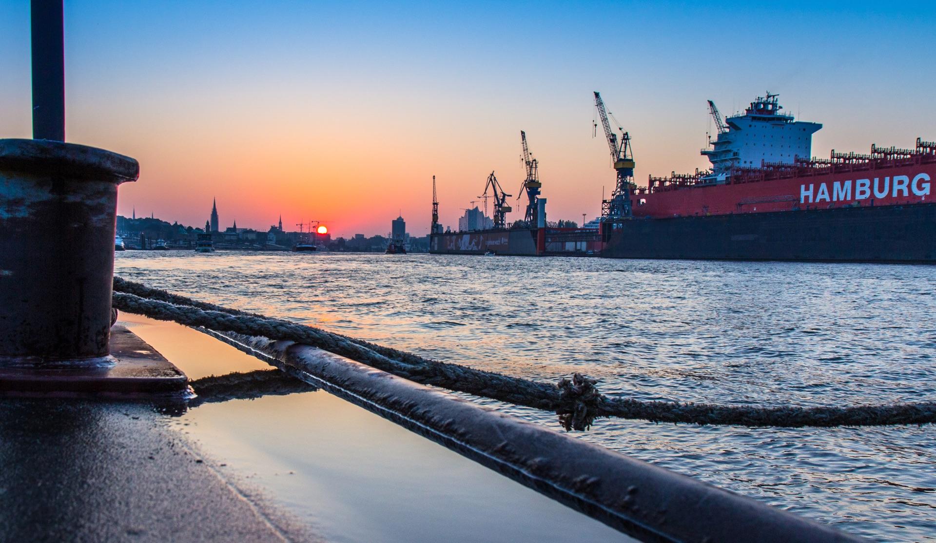 Schp52 Hafen Atmosphäre