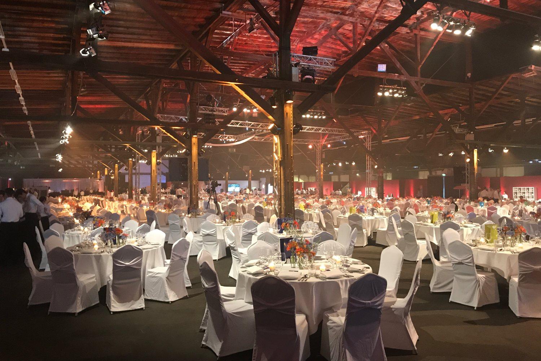 Gerresheim Serviert - Auf der Gala